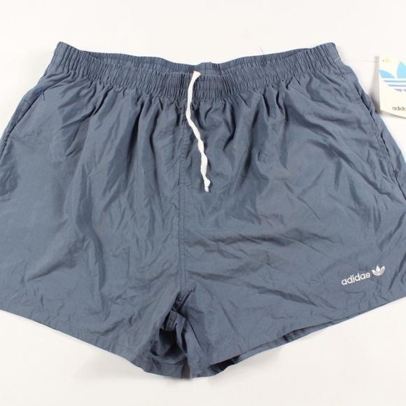 meet d0617 9d9b5 Vintage New Adidas Spell Out Trefoil Soccer Shorts